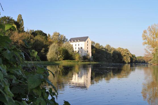 Ile Moulin à Chabris