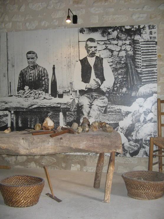 Musée de la pierre à fusil à Luçay le Mâle